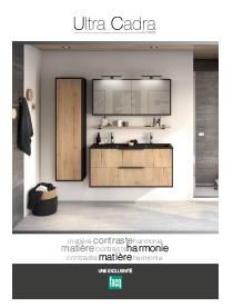 Meubles de salle de bains Ultra Cadra by Delpha