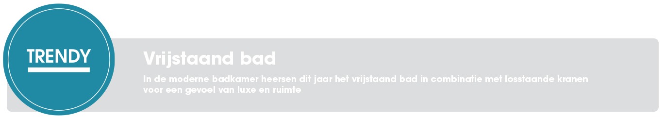 Vrijstaand bad