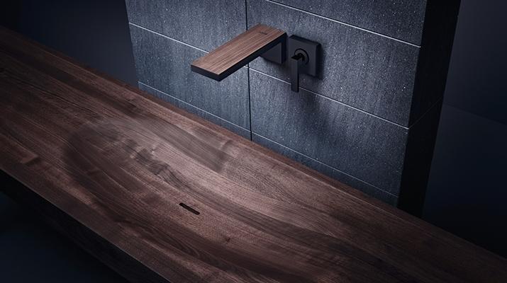 Robinet salle de bains original