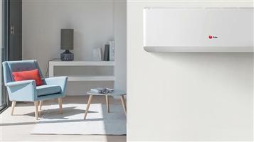 ventilatie en warmtepomp om te koelen en verwarmen