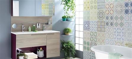 couleur de la salle de bains