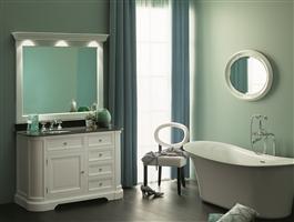 Elysée : des meubles de salle de bain champêtres et romantiques